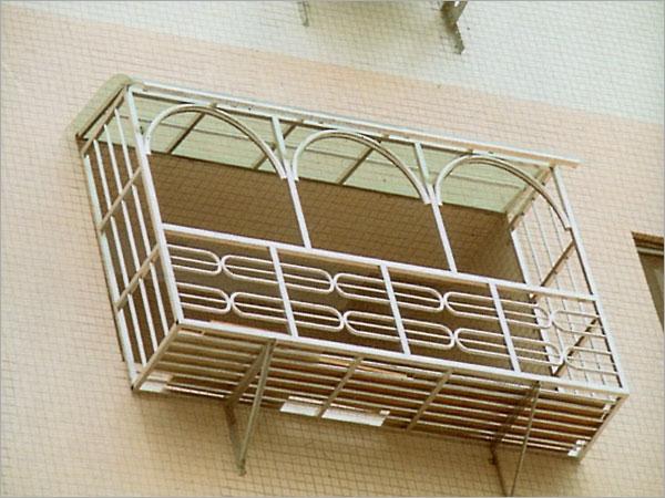 az-w004不锈钢花架窗图片